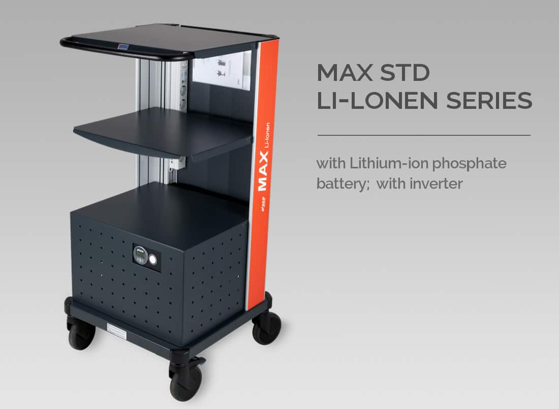 Max Std Li-Lonen Series - with Lithium-ion phosphate battery; with inverter