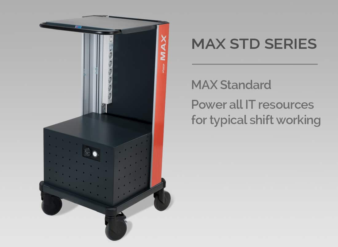 MAX STD SERIES - MAX Standard - Power all IT resources for typical shift working